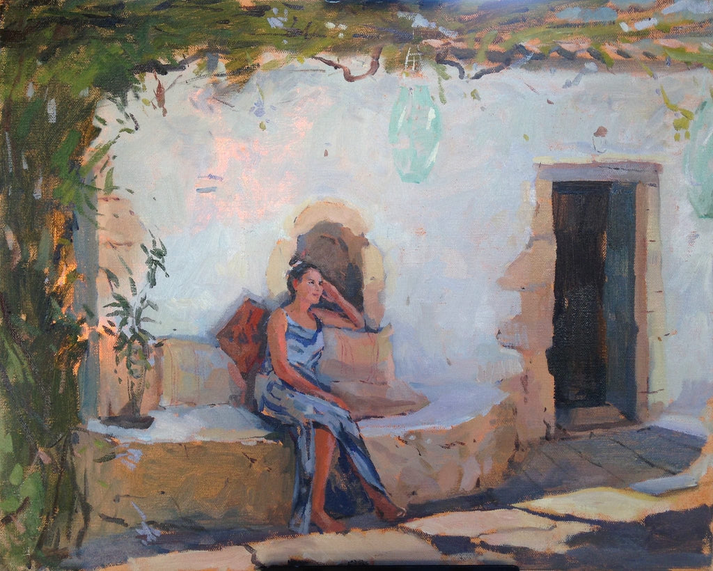 An Afternoon in Greece, Tanvi Pathare