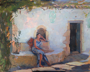 "Tanvi Pathare, ""An Afternoon in Greece"""