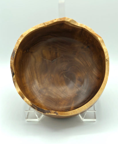 Don Talcott #165, Natural Edge Mulberry Bowl