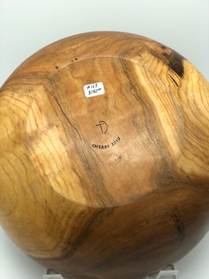 Don Talcott #163, Cherry Wood Bowl