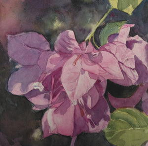 "Anne Hightower-Patterson, ""Pink Bougainvillea"""