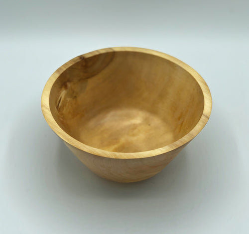 Don Talcott #126, Silver Maple Bowl