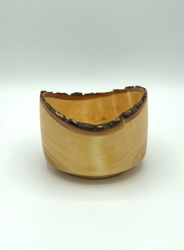 Don Talcott #069, Natural Edge Maple Bowl