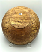 Load image into Gallery viewer, Don Talcott #168, Spalted Pecan Bowl