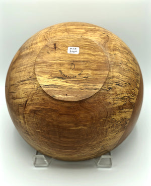Don Talcott #168, Spalted Pecan Bowl