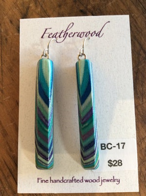 Featherwood earrings bc17