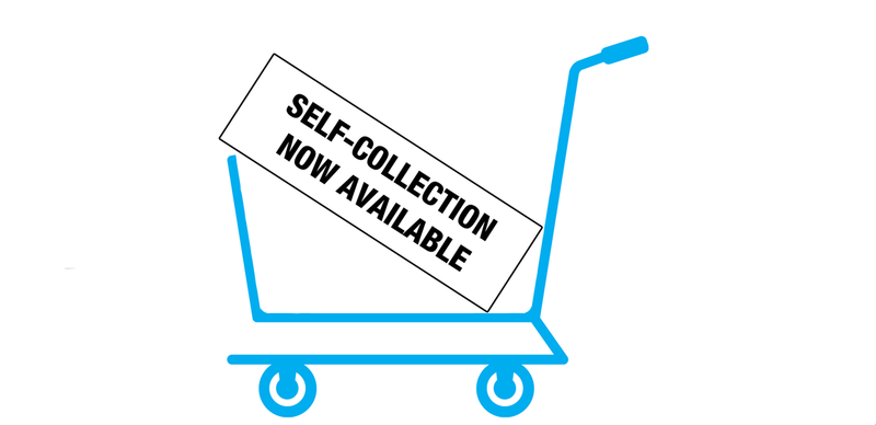 Self Collection is Now Available!