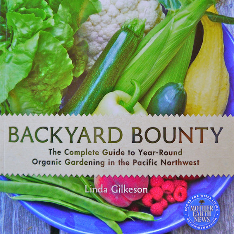 Backyard Bounty Book by Linda Gilkeson