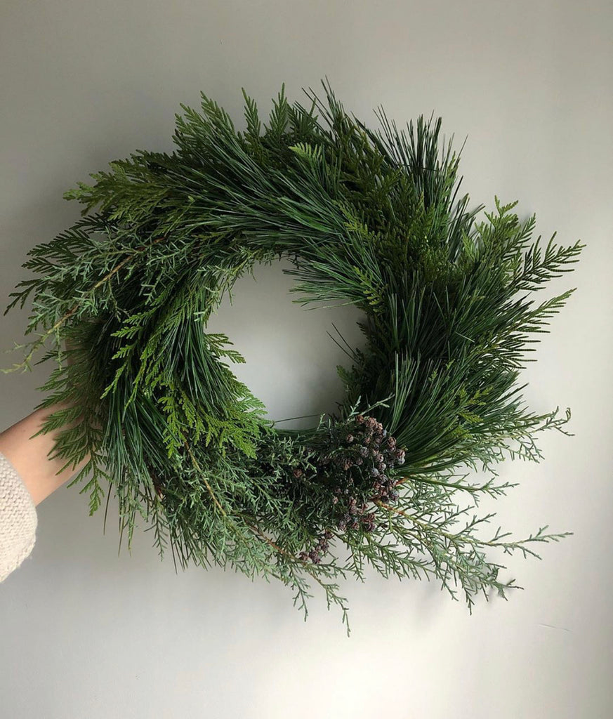 HOLIDAY WREATH!