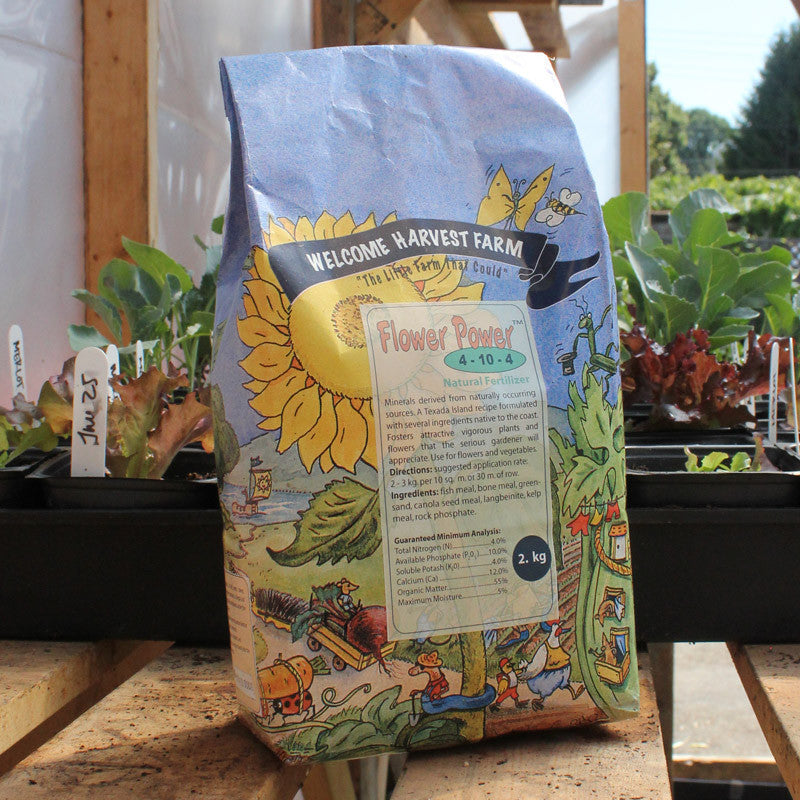 Flower Power Fertilizer