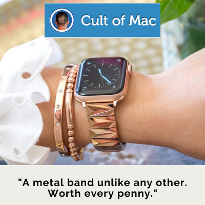 Love from Cult of Mac: The Pyramid Band for the Apple Watch