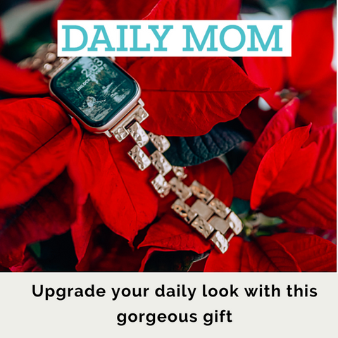 Daily mom gift pick Apple Watch bracelet for women
