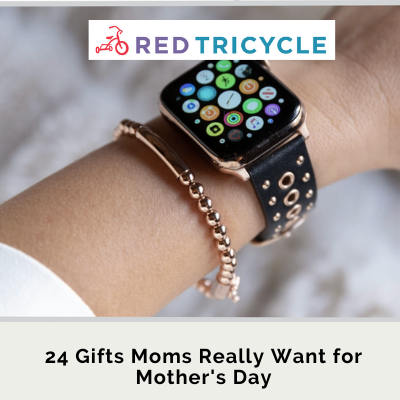 Mother's Day Gift Guide: apple watch band upgrade for women featuring our stud grommet band