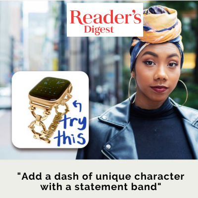 Reader's Digest Stylist Tip Apple Watch Band as Signature Piece