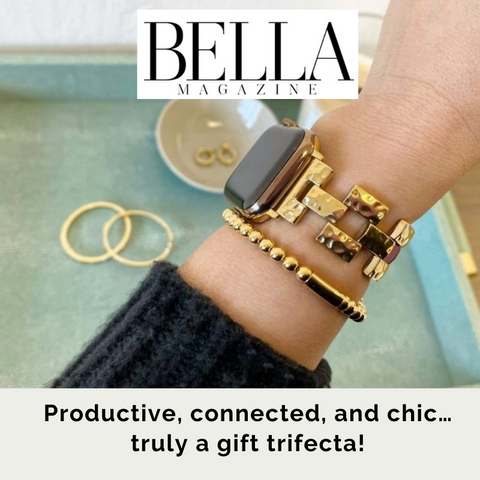 Bella Magazine Stylish Apple Watch Band for Women