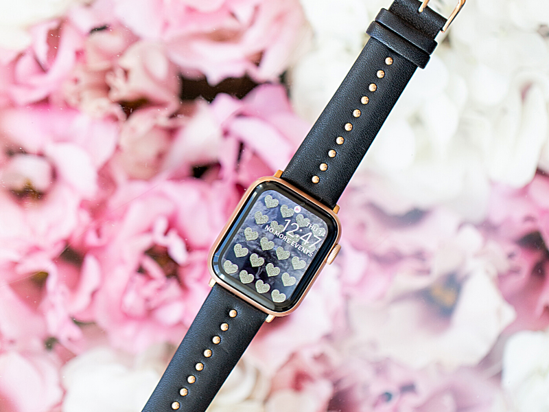 Black Stud Band for the Apple Watch