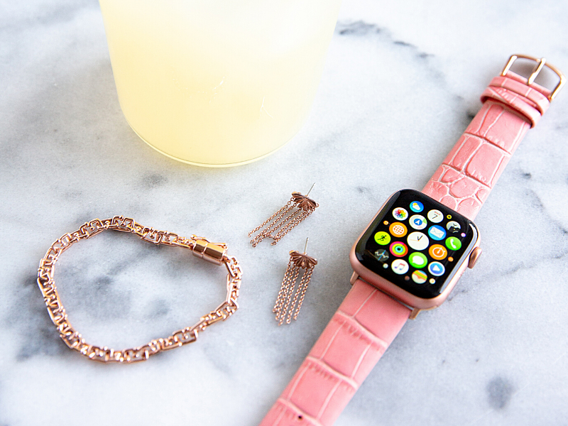 Bubblegum Pink Band for the Apple Watch