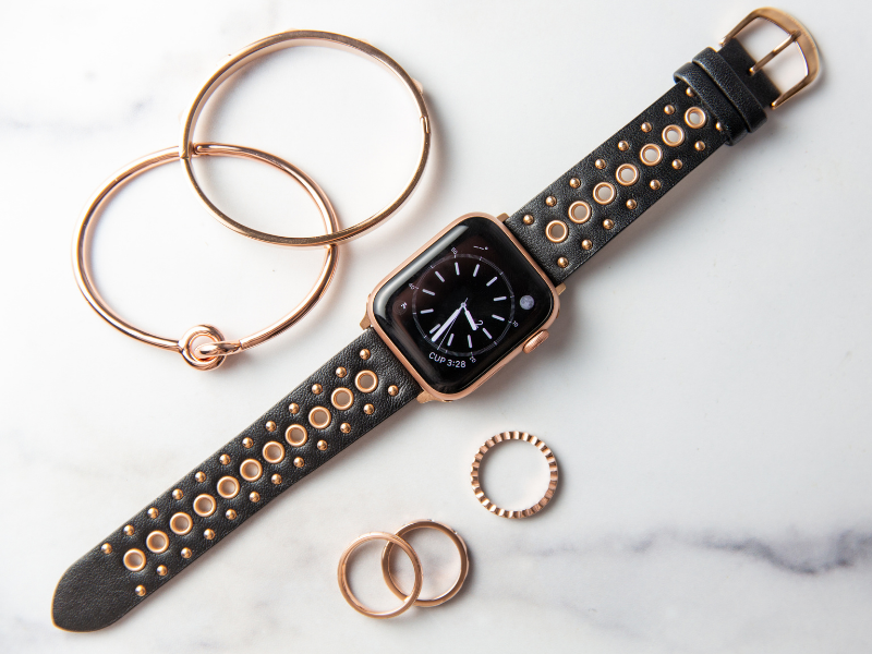 Grommet Stud Band for the Apple Watch