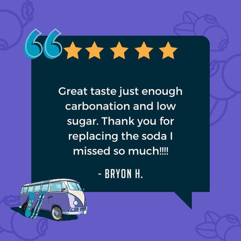 new wave soda positive customer review