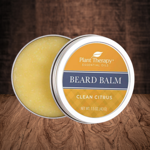 Plant Therapy - Clean Citrus Beard Balm 2 oz