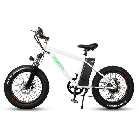 Nakto Mini Cruiser 300W Electric Bike White
