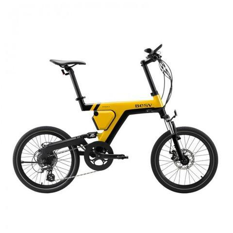 BESV PSA1 City Cruiser Electric Bicycle Yellow