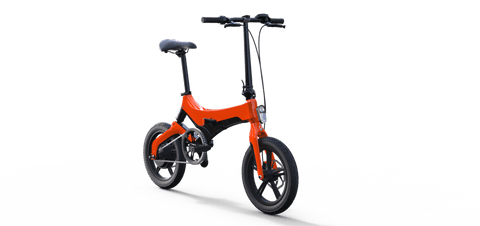 Go-Bike M4 ELECTRIC COMMUTER BIKE Orange