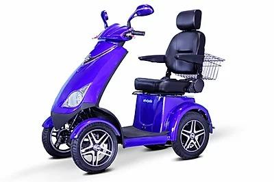 Ewheels EW-72 Electric 700W 4 Wheel Scooter Blue