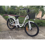 Big Cat Long Beach Cruiser 500 Watt (thin tire) White