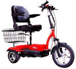Ewheels EW-32 Electric 3 Wheel Scooter Red