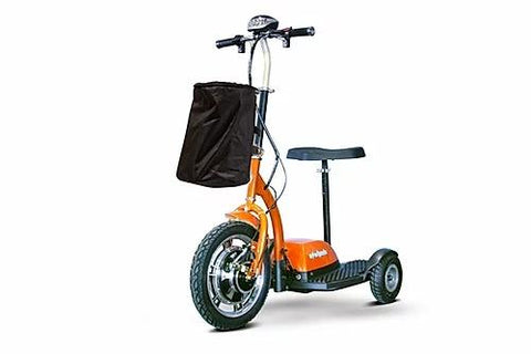 Ewheels EW-18 Electric 350W 3-Wheel Scooter Orange