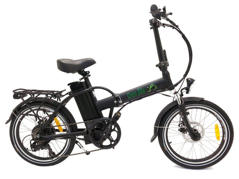 Greenbike USA GB1 500W Folding (Thin tire) Matte Black