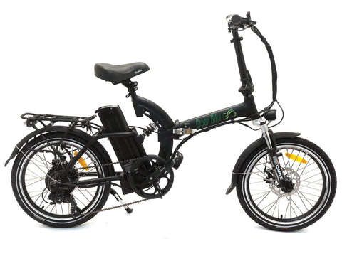 Greenbike USA GB500 Folding Matte Black