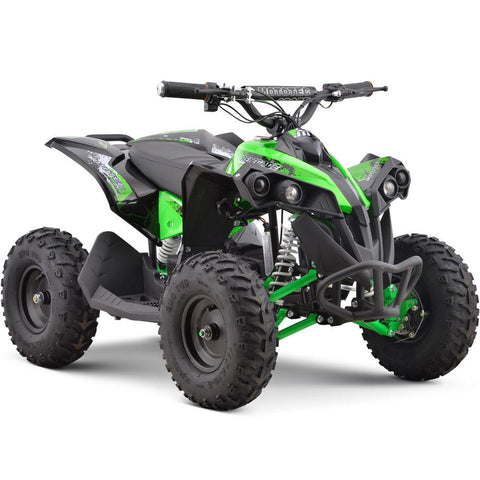 MotoTec 36v 500w Renegade Shaft Drive Kids ATV Green