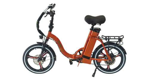 Greenbike USA 500 Low Step City Bike Orange