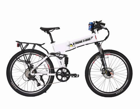 X-Treme Baja 48 Volt Mountain Folding White