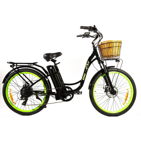 Big Cat Long Beach Cruiser 500 Watt (thin tire) Black