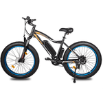 Ecotric Rocket Electric Fat Tire 500W Mountain Bike Blue