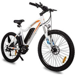 Ecotric Leopard 500W Electric Mountain Bike White