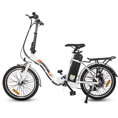 "Ecotric Starfish 20"" 350W Electric City Bike White"