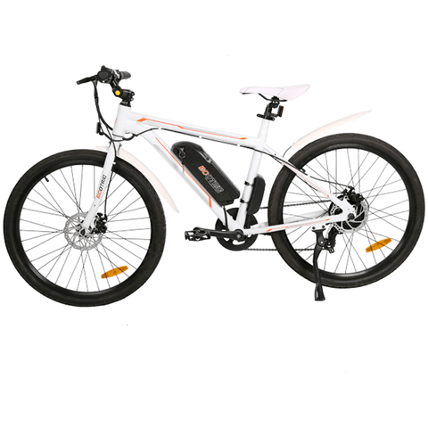 Ecotric Vortex 350W Electric Cruiser Bike White