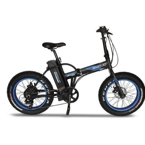 Emojo Lynx Pro 48V Folding 500W (Fat Tire) Black/blue