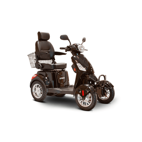 Ewheels EW-46 500W Electric 4 Wheel Scooter Black