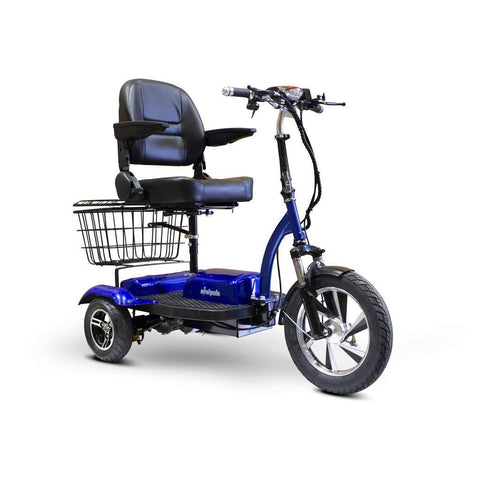 Ewheels EW-32 Electric 3 Wheel Scooter Blue