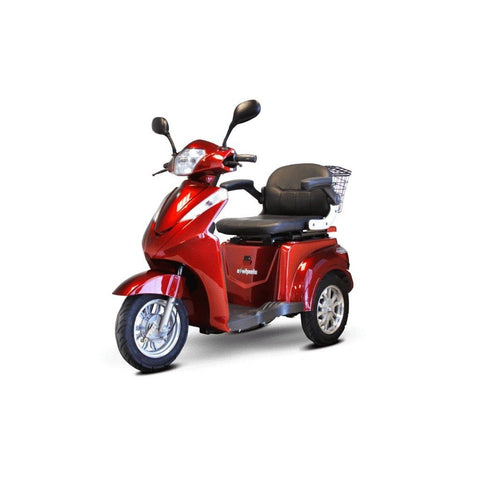Ewheels EW-38 Electric 700W 3 Wheel Scooter Red