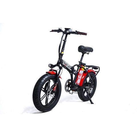 Greenbike Electric Motion Big Dog Extreme 250W Electric City Bike Black/red
