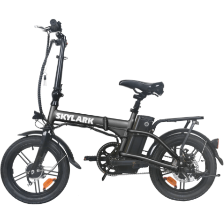 "Nakto 16"" Skylark 250W Electric City Bike Black"