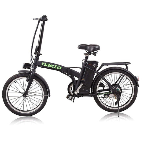 "Nakto 20"" Fashion Folding 250W Electric City Bike"