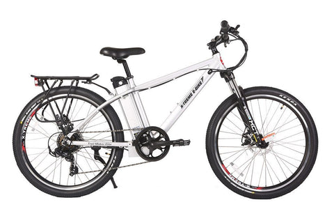 X-Treme Trail Maker Elite 24 Volt Electric Mountain Bike Aluminum