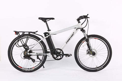 X-Treme Trail Maker Elite Max 36 Volt Electric Mountain Bike Aluminum